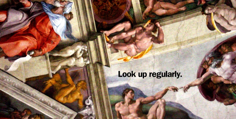 Look Up Regularly copy