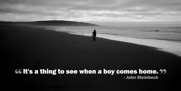 Quote - Steinbeck - Boy Comes Home copy