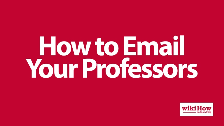 Blog - How To Email Your Professors