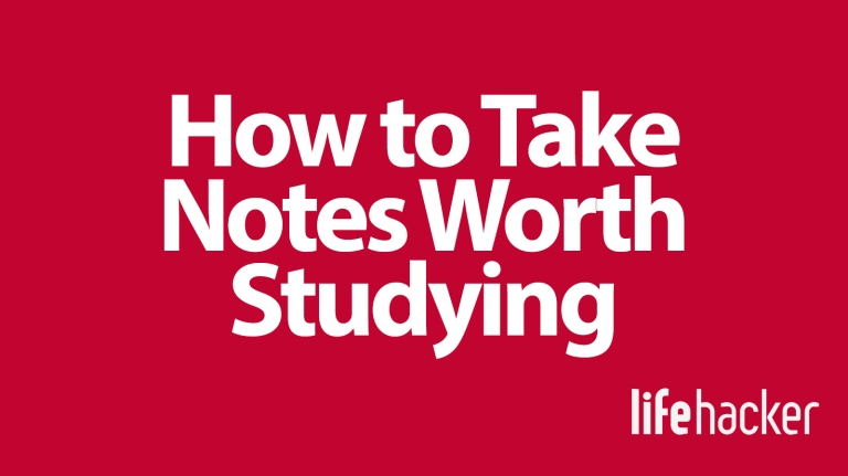 Blog - How to Take Notes Worth Studying