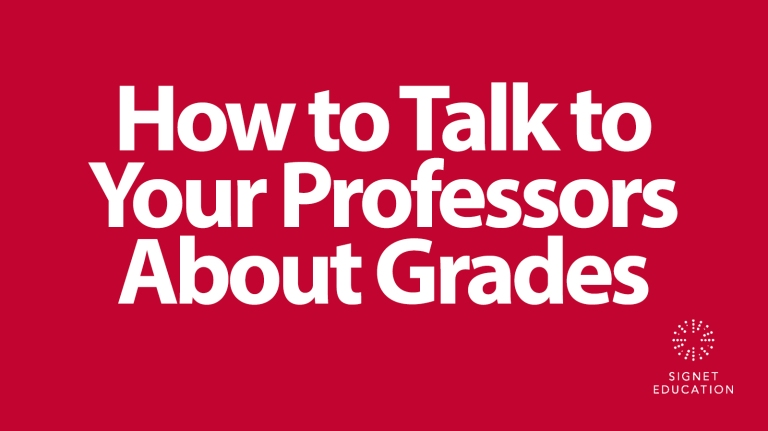 Blog - How to Talk to Your Professors About Grades