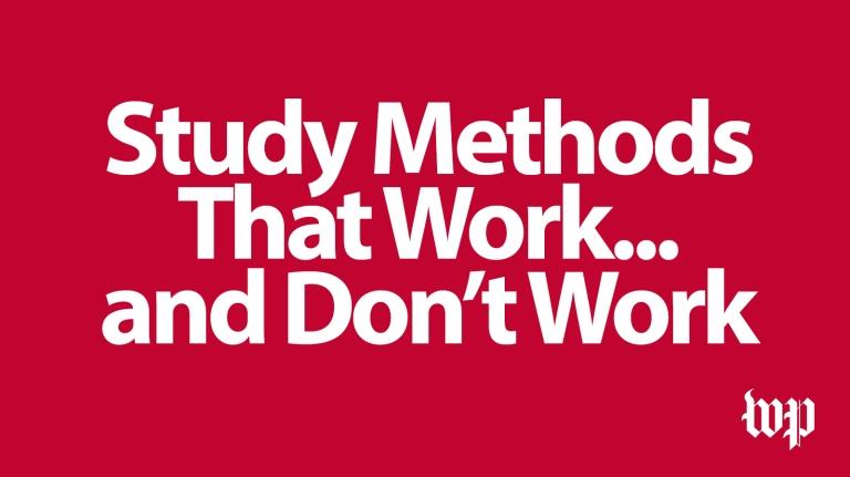 Blog - Study Methods That Work
