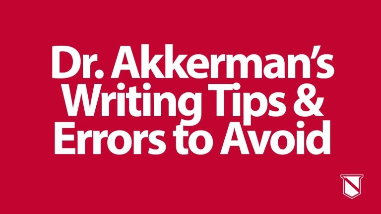 Blog - Writing Tips