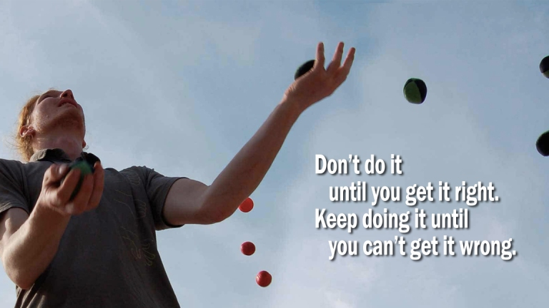 Quote - Juggling